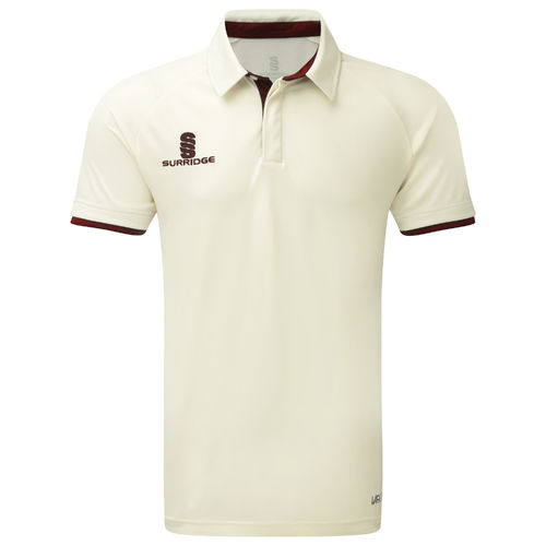 Surridge Ergo Cricket Shirt - Short Sleeve