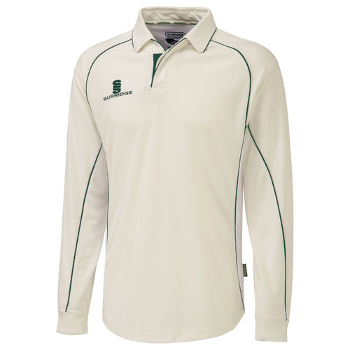 Surridge Premier Cricket Shirt - Long Sleeve