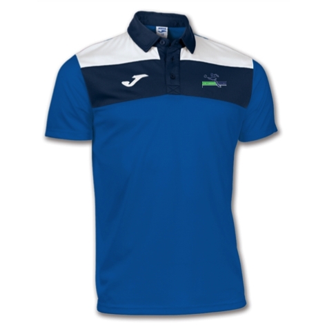 Soccer Village Blue Adult Polo