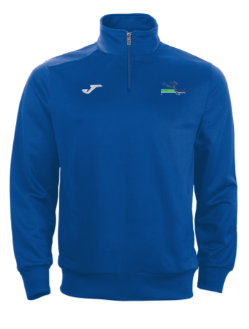 Soccer Village Blue Adult Zip Sweatshirt