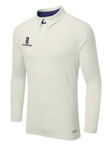 Surridge Ergo Cricket Shirt - Long Sleeve