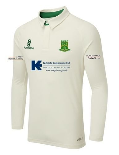 Blackley CC Surridge Ergo Tek LS Playing Shirt - Youth