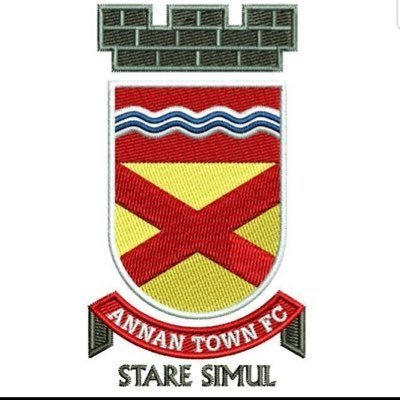 Annan Town FC Embroidered badge