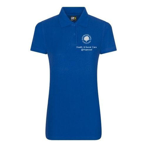 Hopwood Hall College Health & Social Care Female Polo